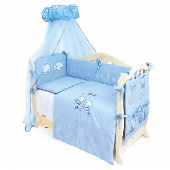 Постельный комплект 4 эл Twins Evo Кот и пес 4067-A-003, blue, голубой