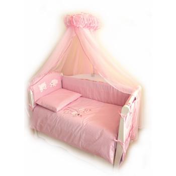 Постельный комплект 4 эл Twins Evo Кот и пес 4067-A-004, pink, розовый