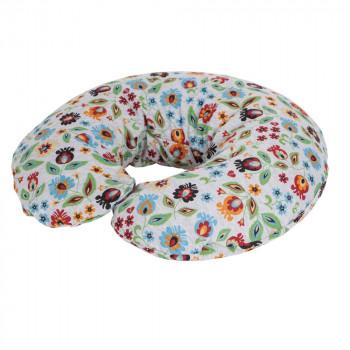 Подушка для беременных Ceba Physio Mini джерси W-702-700-531, Aloha, белый / зеленый