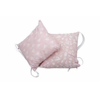 Бампер - подушка Twins Лесные жители (2 шт) 2027-63-08, Лесные жители pink, розовый