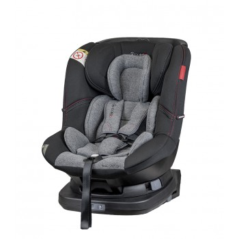 Автокресло Coletto Millo 0-18 ISOFIX 9024-CMIs-13, black, черный