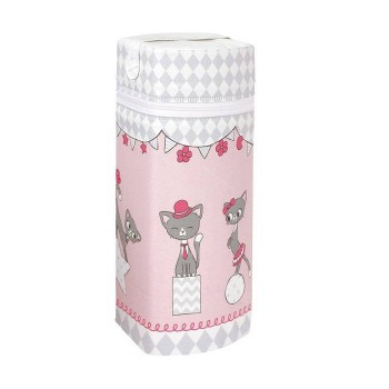 Термоупаковка Cebababy Jumbo Basic W-005-069-130, Котик розовый, розовый
