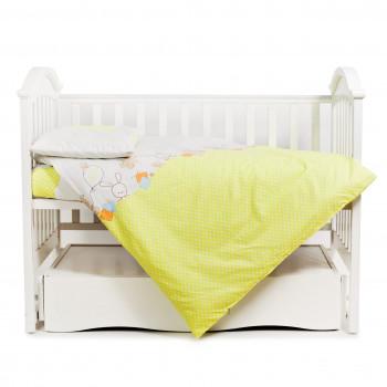Сменная постель 3 эл Twins Comfort 3051-C-022, Горошки зеленые, зеленый