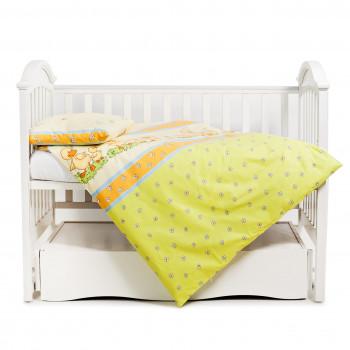 Сменная постель 3 эл Twins Comfort 3051-C-027, Утята зеленые, зеленый