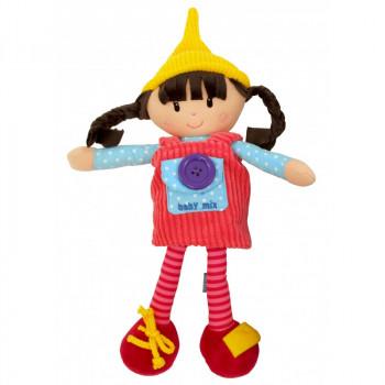 Плюшевая кукла Baby Mix TE-8488-31 TE-8488-31A Ula, girl, мультиколир