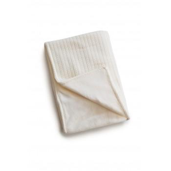 Плед Twins Pastel nude 100х100 1407-TP-02 ecru, натуральный