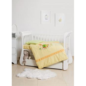 Сменная постель 3 эл Twins Limited 3099-TL-014-06, Froggy, салатовый