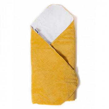 Конверт - плед Twins Velvet 80x80 9015-TW-05, melon, желтый