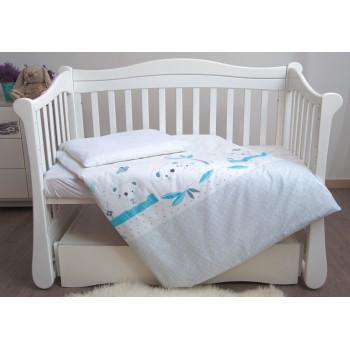 Сменная постель 3 эл Twins Eco Line New 3091-E-024, Koala mint, бирюза