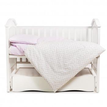 Сменная постель 3 эл Twins Comfort 3051-C-033, Котики розовые, розовый