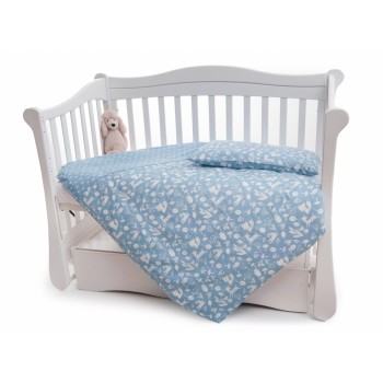 Сменная постель 3 эл Twins Dolce Лесные жители 3063-D-011, blue, голубой