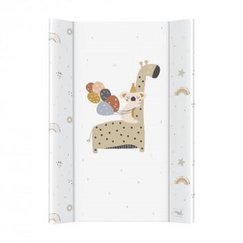 Пеленальная доска Cebababy 50x70 Retro Autumn W-200-000-637, Giraffe, белый