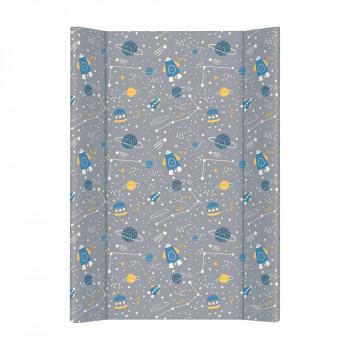 Пеленальная доска Cebababy 50x70 Candy Andy W-200-121-610, Cosmo, серый / синий