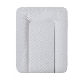 Пеленальный матрас Cebababy 50x70 Caro Premium line W-143-079-260, grey, серый