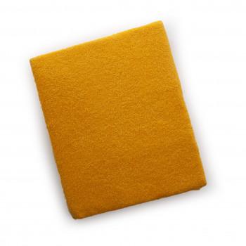 Наматрасник Twins влаго- непроницаемый на резинке махровый 120х60 6040-05, yellow, желтый
