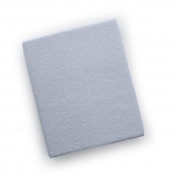 Простыня на резинке Twins 120x60 махровое 6020-01, white, белый