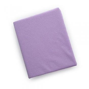 Простыня на резинке Twins 120x60 махровое 6020-11, violet, фиолетовый