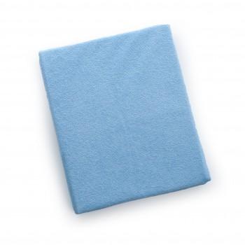 Простыня на резинке Twins 120x60 махровая 6020-04, blue, голубой