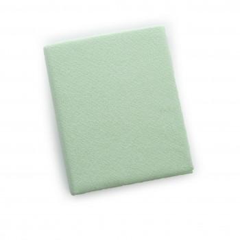 Простыня на резинке Twins 120x60 махровое 6020-19, green, салатовый