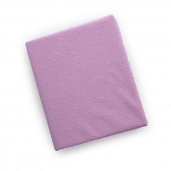 Простыня на резинке Twins 120x60 махровое 6020-08, pink, розовый