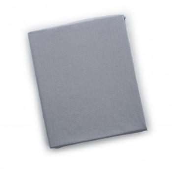 Простыня на резинке Twins 120x60 бязь 6010-09-10, grey, серый