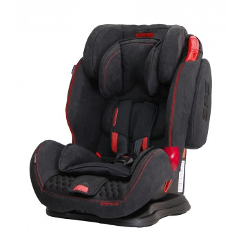 Автокресло Coletto Sportivo 9-36 black new, черный