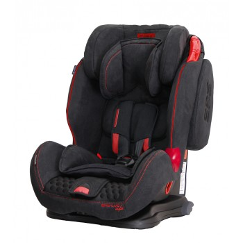 Автокресло Coletto Sportivo Isofix 9-36 9024-CSIs-13N, black new, черный