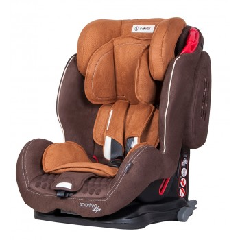 Автокрісло Coletto Sportivo Isofix 9-36 9024-CSIs-07, brown, коричневий