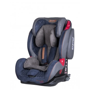 Автокресло Coletto Sportivo Only Isofix 9-36 navy, синий