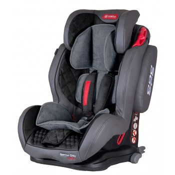 Автокресло Coletto Sportivo Only Isofix 9-36 grey, серый