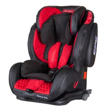 Автокресло Coletto Sportivo Only Isofix 9-36 red, красный
