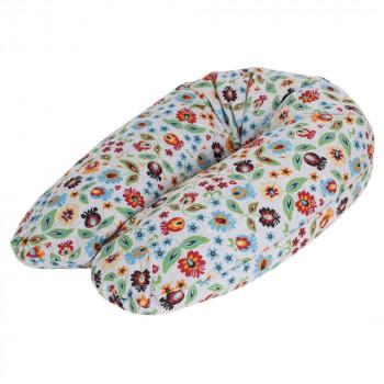 Подушка для беременных Ceba Physio Multi джерси W-741-700-529, Folklore, мультиколор