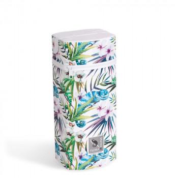 Термоупаковка Cebababy Jumbo Flora & Fauna W-005-099-542, Camaleon Blanco, белый / зеленый