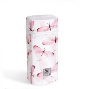 Термоупаковка Cebababy Jumbo Flora & Fauna W-005-099-543, Libelula, белый / розовый