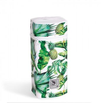 Термоупаковка Cebababy Jumbo Flora & Fauna W-005-099-545, Pina, белый / зеленый