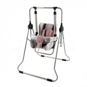 Качели Adbor N1 (со столиком) N1, 01 бежевый / розовый
