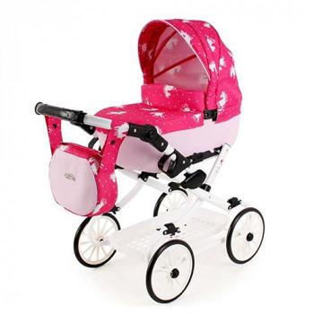 Коляска для куклы Adbor Viki VI-04, 04, розовый