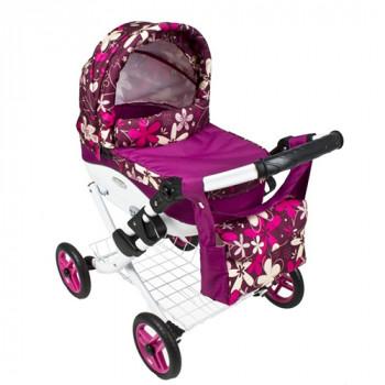 Коляска для куклы Adbor Lily Lc-16, 16 фиолетовый