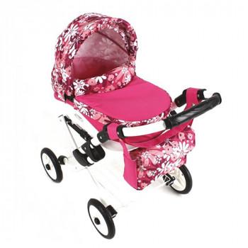 Коляска для куклы Adbor Lily Lc-20, 20, розовый
