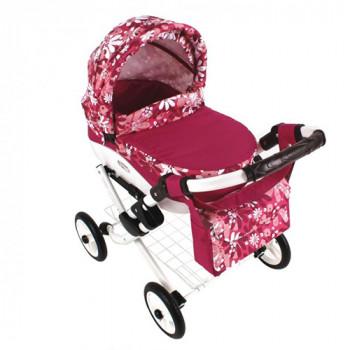 Коляска для куклы Adbor Lily Lc-21, 21, розовый