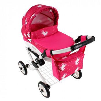 Коляска для куклы Adbor Lily Lc-23, 23, розовый