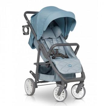 Коляска Euro-Cart Flex niagara, голубой