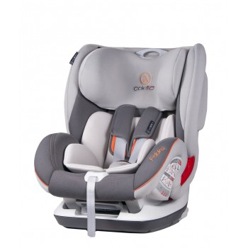Автокресло Coletto Fabio Isofix 9-36 9024-CFAB-10N, grey new, серый