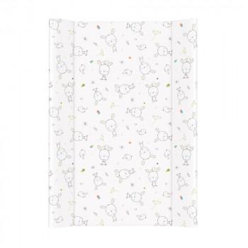 Пеленальная доска Cebababy 50x70 Basic line W-200-903-100, Сон белый, белый