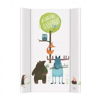 Пеленальная доска Cebababy 50x70 Aztega & Nature W-200-103-100, Animals / Зверюшки, мультиколор