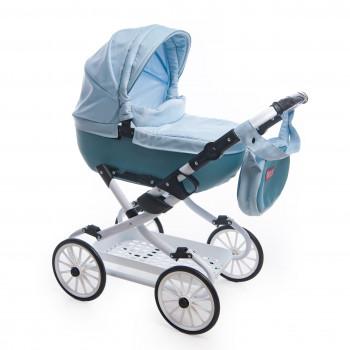 Коляска Broco Mini Avenu 2020 кукольная 10 голубой