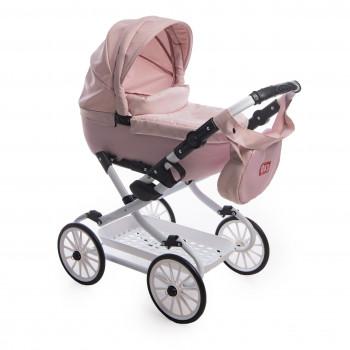 Коляска Broco Mini Avenu 2020 кукольная 11 розовый