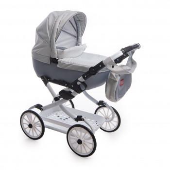 Коляска Broco Mini Avenu 2020 лялькова 12, сірий