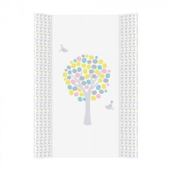 Пеленальная доска Cebababy 50x70 Basic line W-200-072-130, Магическое дерево розовое, розовый