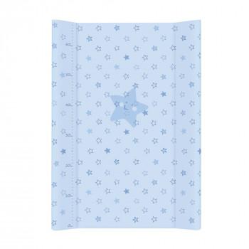 Пеленальная доска Cebababy 50x80 Basic line W-210-066-160, Звездочка голубая, голубой